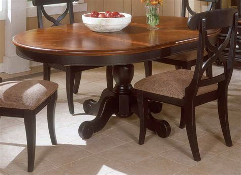 Round Pedestal Dining Tables Extensions