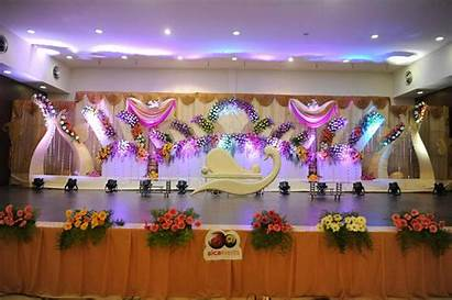 Stage Decoration Simple Flower Fresher Decorations Chennai