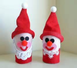toilet roll santa christmas craft preschool crafts for kids