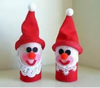 Preschool Crafts For Kids Toilet Roll Santa Christmas Craft