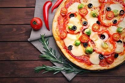 Pizza 4k Wallpapers Background Pan Desktop