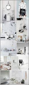 Marbre Decoration : le marbre is back mood board marbre tendance marbre par chiara stella home 6 decor home ~ Dode.kayakingforconservation.com Idées de Décoration