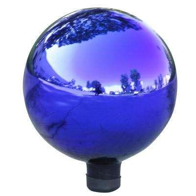 gazing balls garden decor  home depot