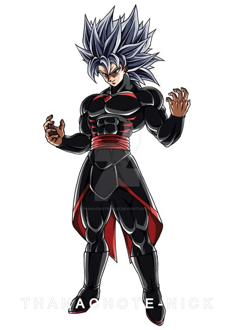oc sol color  thanachote nick dragon ball super