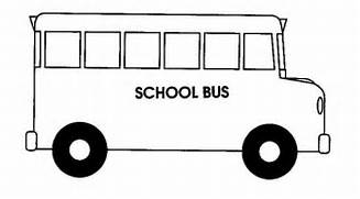 bus to draw Colouring Pages  Bus Drawing