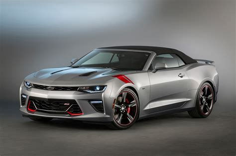 2016 Chevrolet Camaro Ss Red, Black Accent Concepts Head