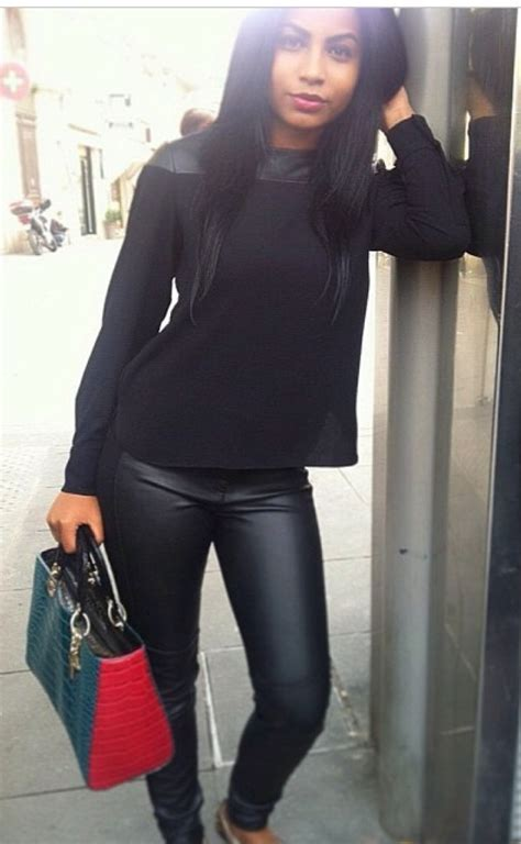 Pants: leather leggings, black, jeans, crop tops, top