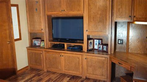 timber art custom home office tv stand