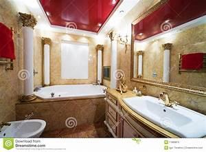 Marbre Salle De Bain : salle de bains de marbre photo libre de droits image ~ Dailycaller-alerts.com Idées de Décoration