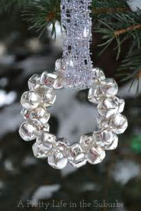 easy silver bells wreath ornament a pretty life in the suburbs