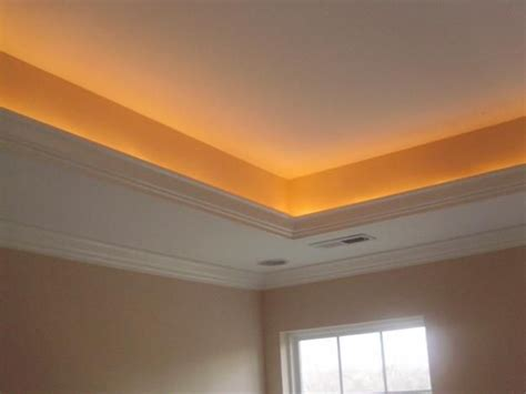 tray ceiling lights for the home