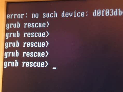 Grub Rescue Boot how to fix ubuntu grub rescue prompt linux buggingweb