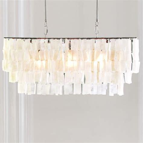 west elm capiz chandelier large rectangle hanging capiz pendant from west elm