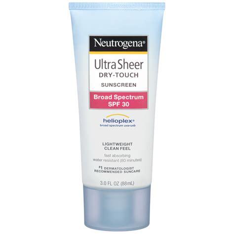 Amazon.com: Neutrogena Ultra Sheer Dry-Touch Sunscreen