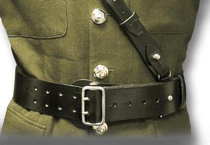 sam browne belt cross strap silvermans