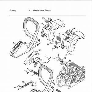 Stihl 034 Av Parts Diagram