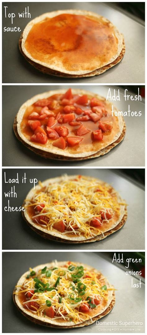 Best 20 Taco Pizza Recipes Ideas On Pinterest Easy