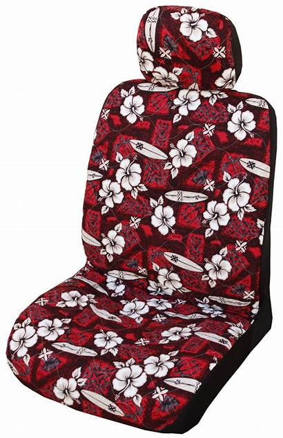 Headrest Hibiscus Hawaiian Covers Separate Surf Seat