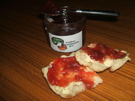 cuisine rhubarbe confiture fraises rhubarbe blogs de cuisine