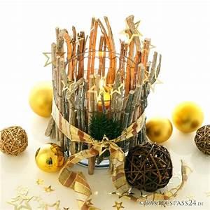 Tischdeko Ideen Selbermachen : tischdeko mit glasvasen f r weihnachten selber machen tolle zwei ~ Orissabook.com Haus und Dekorationen
