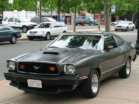 1978 Mustang Ii by 1978 Ford Mustang Ii Mach 1 Fastback Custom 694p 1 A