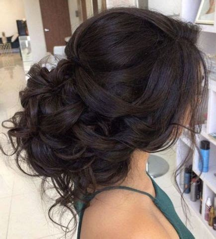 updos  long thick hair wedding