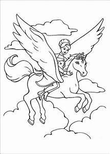 barbie and the magic pegasus coloring pages team colors With magiceyecircuitjpg
