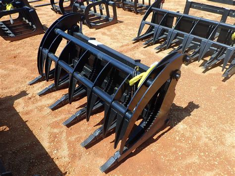 skid steer attachment jm wood auction company