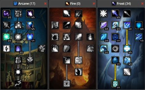 mage wow classic build leveling arcane frost fire pvp 60 guide level spec pve warcraft elemental target single class builds