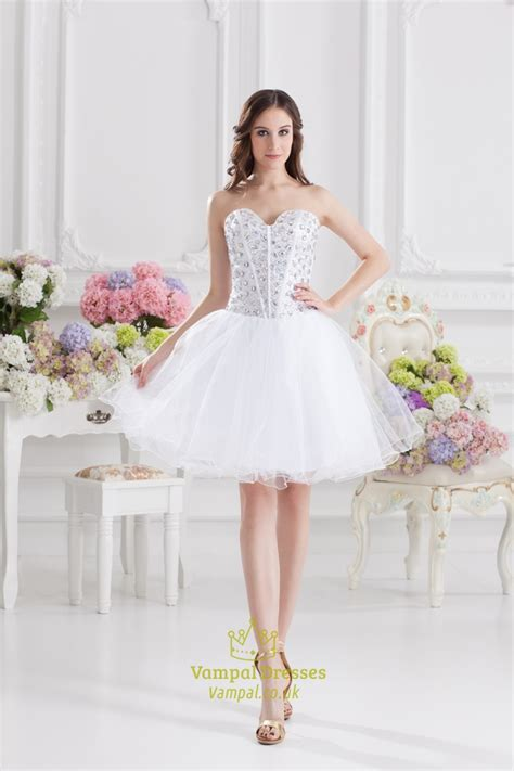 White Cocktail Dresses For Bachelorette Party,white