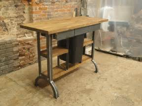 cheap kitchen island tables made modern industrial kitchen island console table by cosironworks custommade