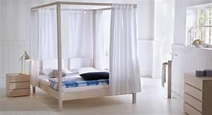 Mädchen Bett 140x200 : himmelbett aus massivholz in wei bestellen lorca ~ Whattoseeinmadrid.com Haus und Dekorationen