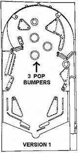 Pinball Machine Bally Template Freedom Coloring Parts Sketch Schematics Additional sketch template