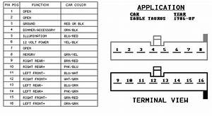 2001 Ford Taurus Ses Stereo Wiring Diagram Database