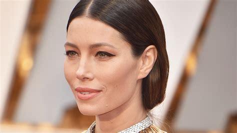 Jessica Biel Hair The Oscars Stylecaster