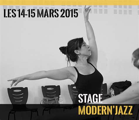 stage de danse modern jazz avec didier guichard