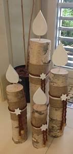 Kerzen Selber Machen Aus Alten Kerzen : kerzen aus einem birkenstamm deko weihnachtsdeko holz diy weihnachten und deko weihnachten ~ Orissabook.com Haus und Dekorationen