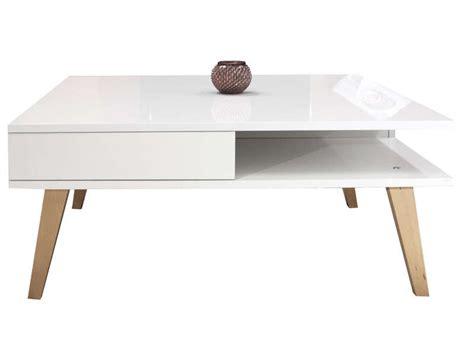 table basse kwadra coloris blanc h 234 tre vente de table basse conforama