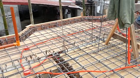 second floor slab preparation