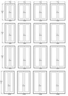 What are Standard Window Sizes? - Compare Size Charts