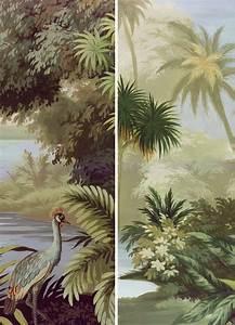 Papier Peint Ananbo : les 25 meilleures id es de la cat gorie papier peint panoramique sur pinterest colonial ~ Melissatoandfro.com Idées de Décoration
