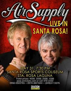 Legendary Duo Air Supply Takes Santa Rosa in May | When In ...