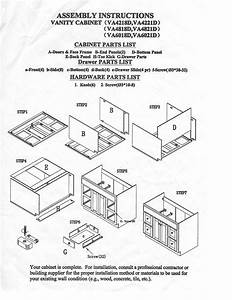 Ghi Cabinet Instructions