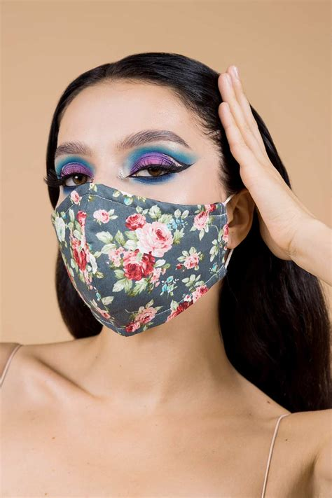 Reusable And Washable Face Mask 4 Layers Pure Cotton