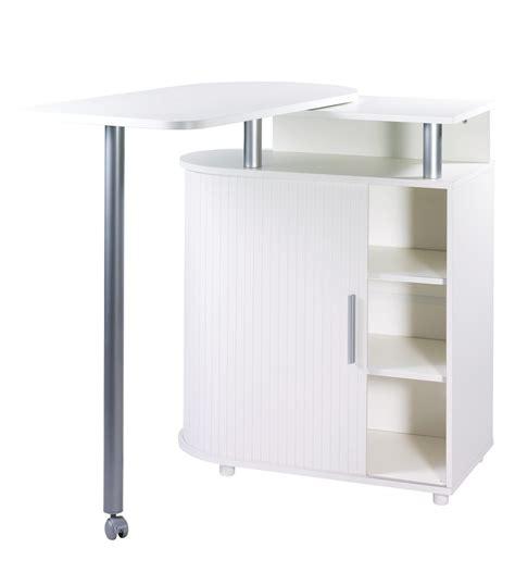 bar de cuisine avec rangement stunning meuble de rangement blanc avec table pivotante