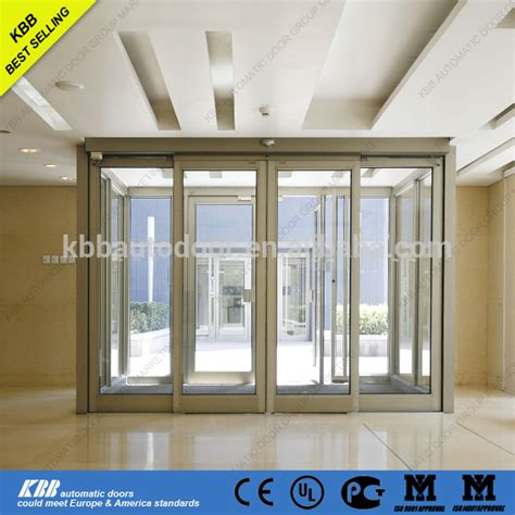 automatic sliding glass doors automatic sliding door with low price with controller