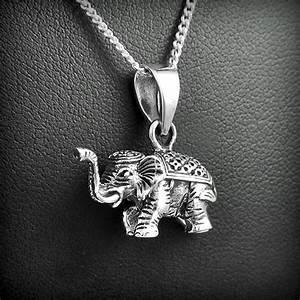 Elephant Porte Bonheur : pendentif elephant argent excalibur bijoux ~ Melissatoandfro.com Idées de Décoration