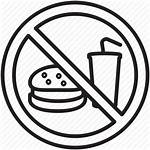 Icon Signs Drink Warning Burger Appetite Drawing