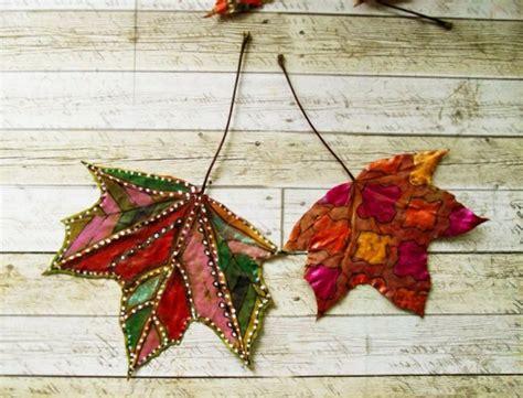 Herbstdeko Basteln Für Fenster Kostenlos by Herbstdeko Selber Basteln 40 Erstaunliche Ideen