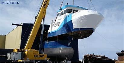 Factory Trawler Meridien Vessel Main Engine
